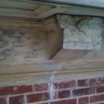 Historic Stone Repair Before