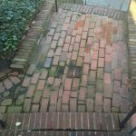 Brick Path Before