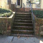 Brick Stairs Before