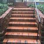 Brick Stairs After