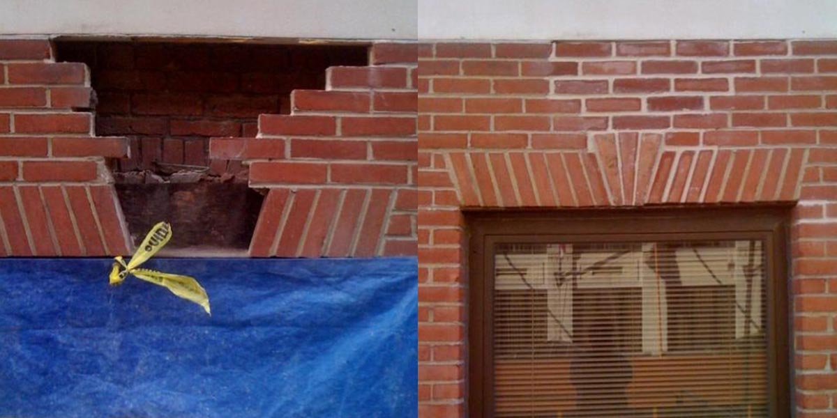 Brick Lintel Repair