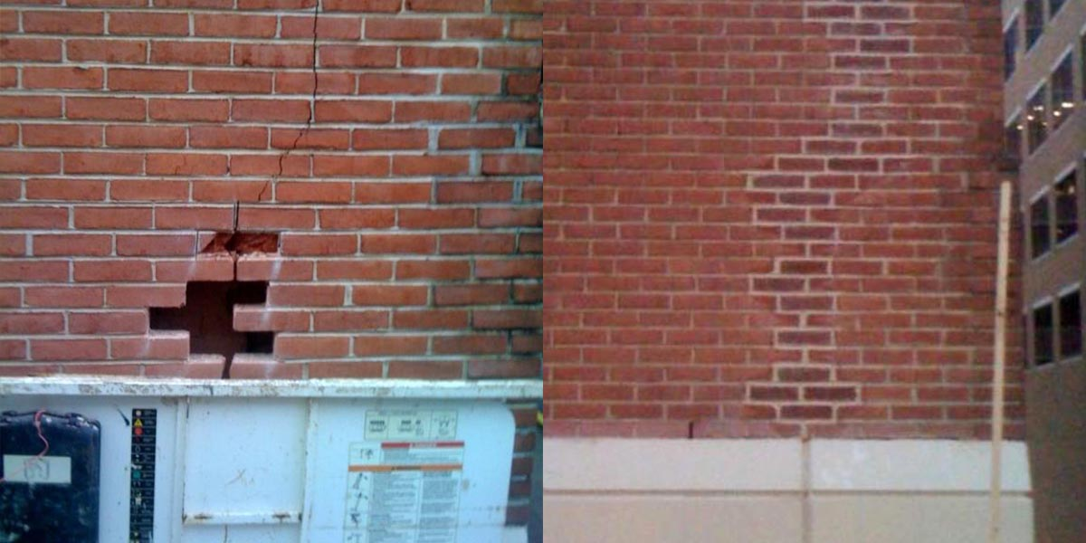 Cracked Brick Repair Washington D.C.