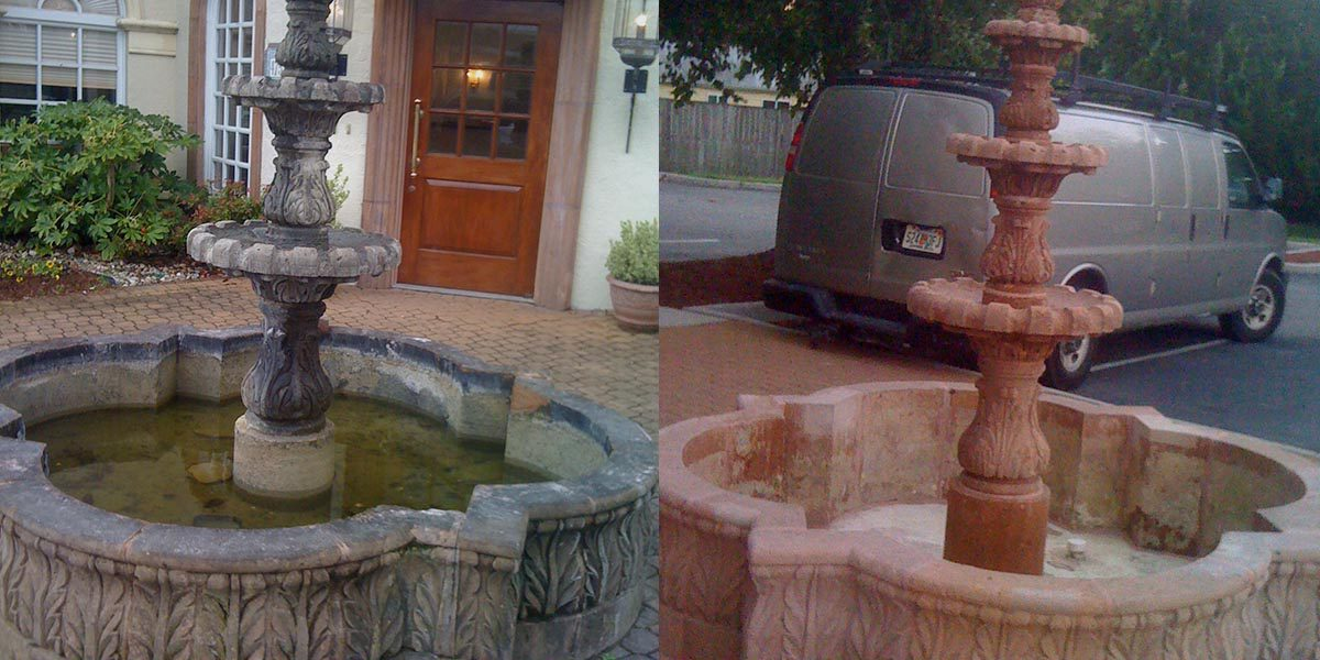 Historic Fountain Cleaning