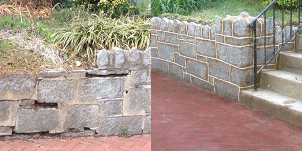 Retaining Wall Rebuild